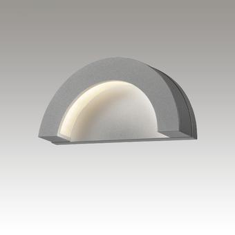 Crest LED Sconce Gray SIlo Image