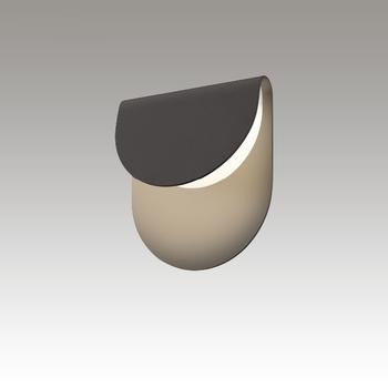 Cape LED Sconce Gray SIlo Image
