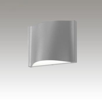 Drift Dual LED Sconce Gray SIlo Image