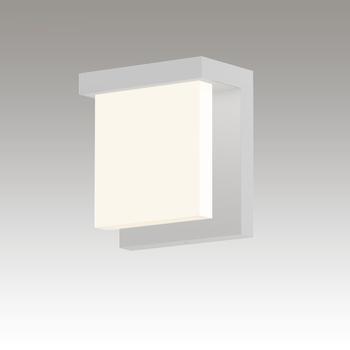 Glass Glow LED Sconce Gray SIlo Image