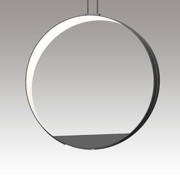 Aureola LED Pendant Gray SIlo Image