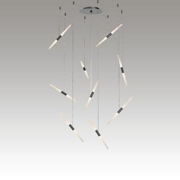 Ballet LED Pendant Gray SIlo Image