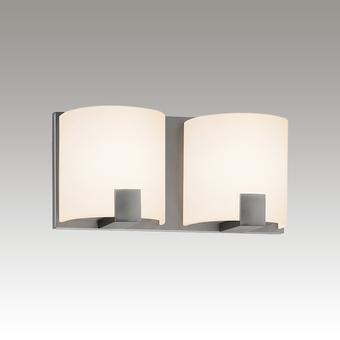 C-Shell LED Bath Bar Gray SIlo Image