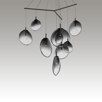Cantina LED Pendant Gray SIlo Image