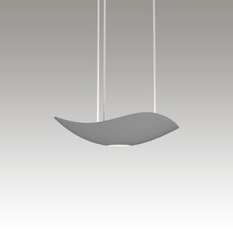 Infinity LED Pendant w/Downlight Gray SIlo Image