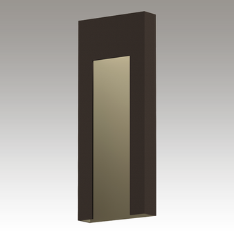 Inset Tall LED Sconce Gray SIlo Image