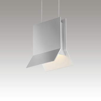 Lambda LED Pendant Gray SIlo Image