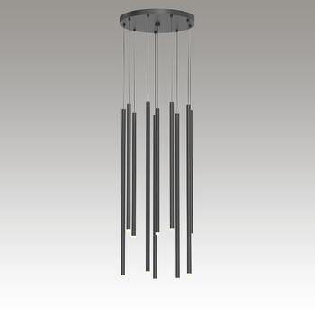 Light Chimes LED Pendant Gray SIlo Image