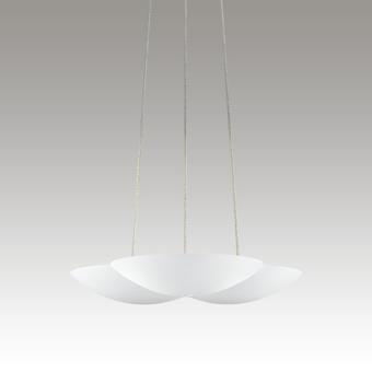 Little Cloud LED Uplight Pendant Gray SIlo Image