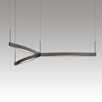 Ola LED Pendant Gray SIlo Image