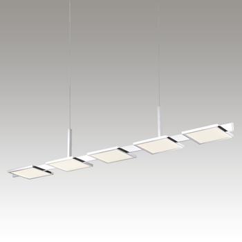 Panels LED Pendant Gray SIlo Image