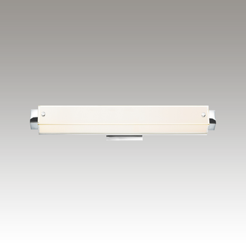 Parallel LED Bath Bar Gray SIlo Image