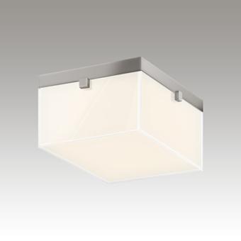 Parallel LED Flush Mount Gray SIlo Image