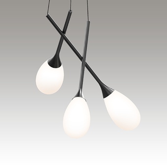 Parisone LED Pendant Gray SIlo Image