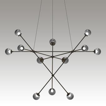 Proton Alpha Pendant Gray SIlo Image
