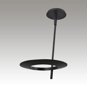 Ringlo LED Ceiling Torchiere Gray SIlo Image
