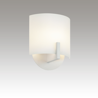 Scudo LED Sconce Gray SIlo Image
