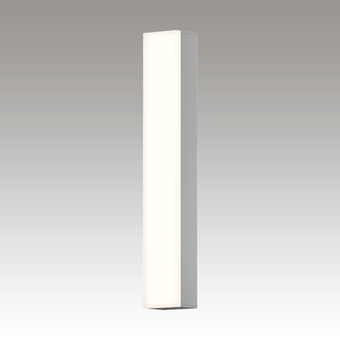 Solid Glass Bar LED Bath Bar Gray SIlo Image