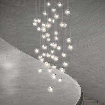 Champagne Bubbles LED Pendant