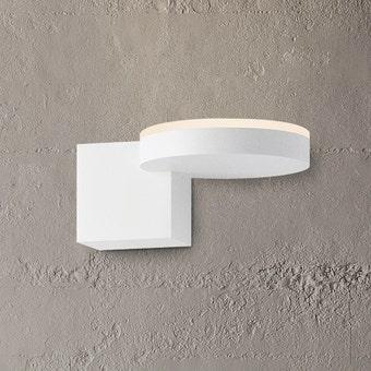 Disc-Cube LED Sconce