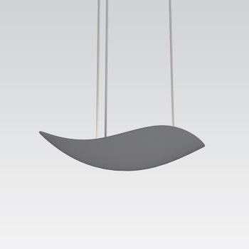 2665.18 Infinity LED Pendant Dove Gray Gray SIlo Image