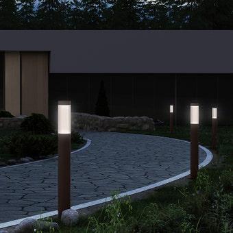 Round Column LED Bollard