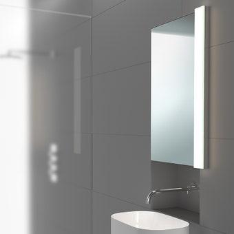 Solid Glass Bar LED Bath Bar