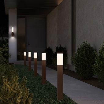 Square Column LED Bollard