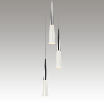 Spire LED Pendant Gray SIlo Image