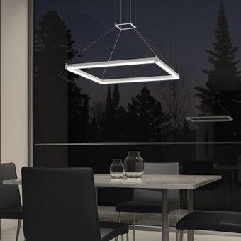 Stix Square LED Pendant