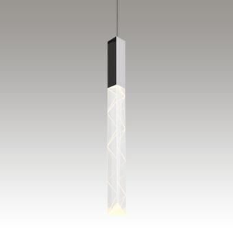 Trinity LED Pendant Gray SIlo Image