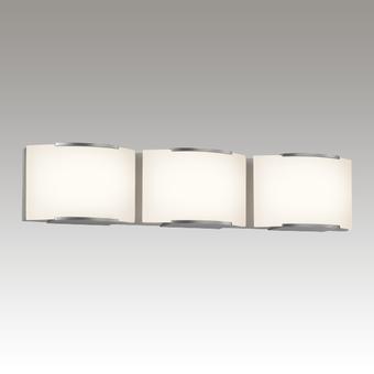 Wave LED Bath Bar Gray SIlo Image