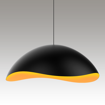 Waveforms Dome LED Pendant