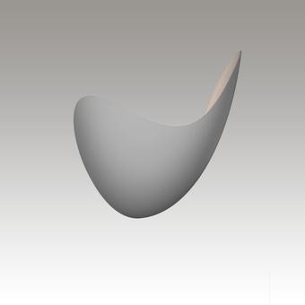 Waveforms LED Sconce