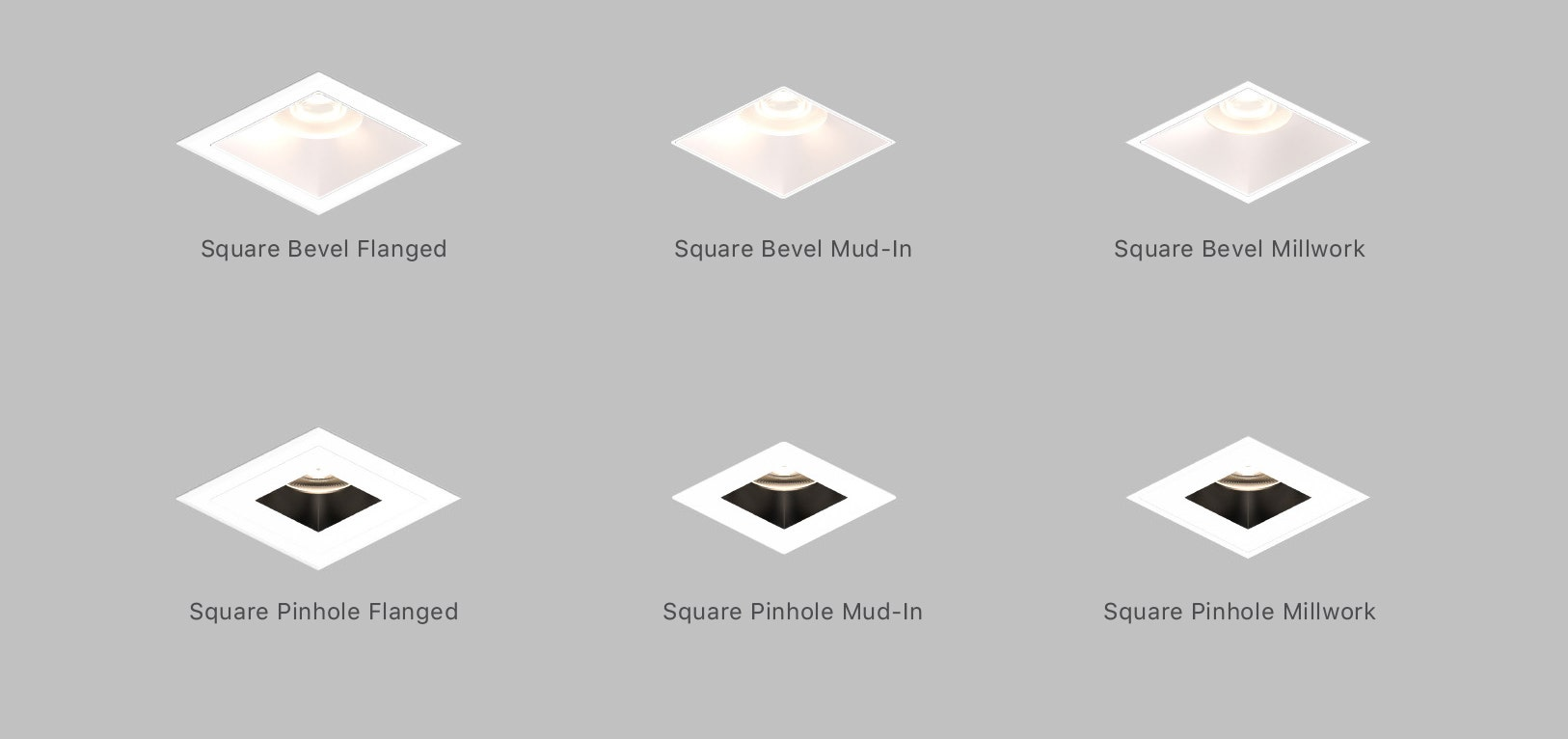 Sonneman Intervals Fixed Trim square