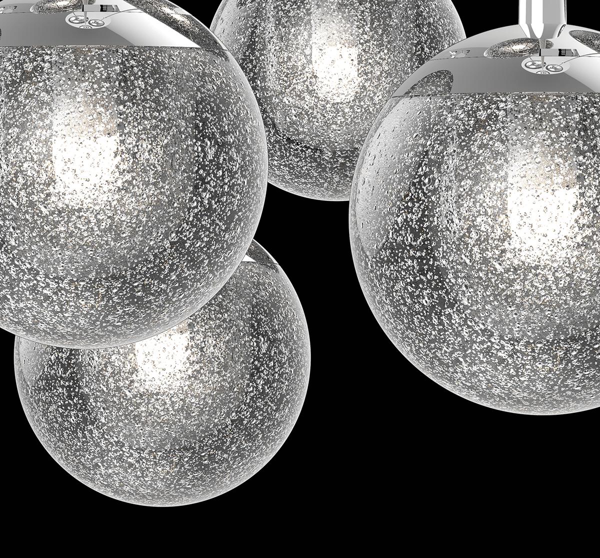 Sonneman Champagne Bubbles LED Pendant
