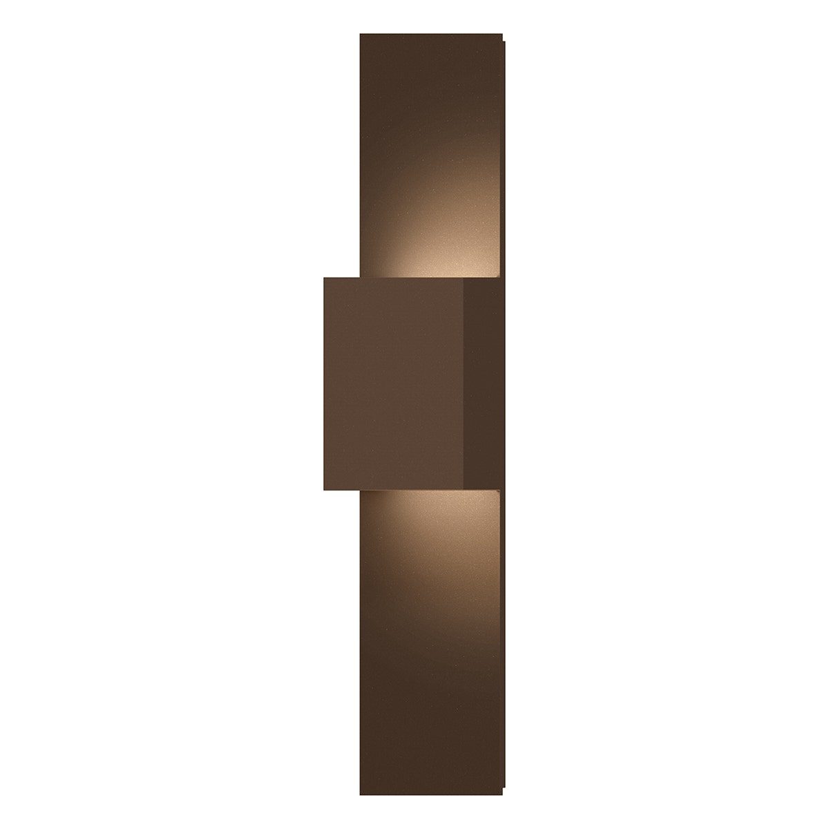 Flat Box Up/Down LED Panel Sconce Outdoor