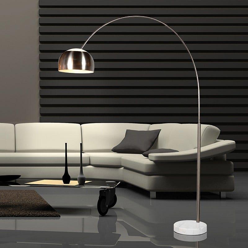SONNEMAN Arc Floor Lamp Living Room