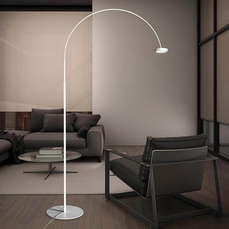 sonneman Pluck LED Floor Lamp living room