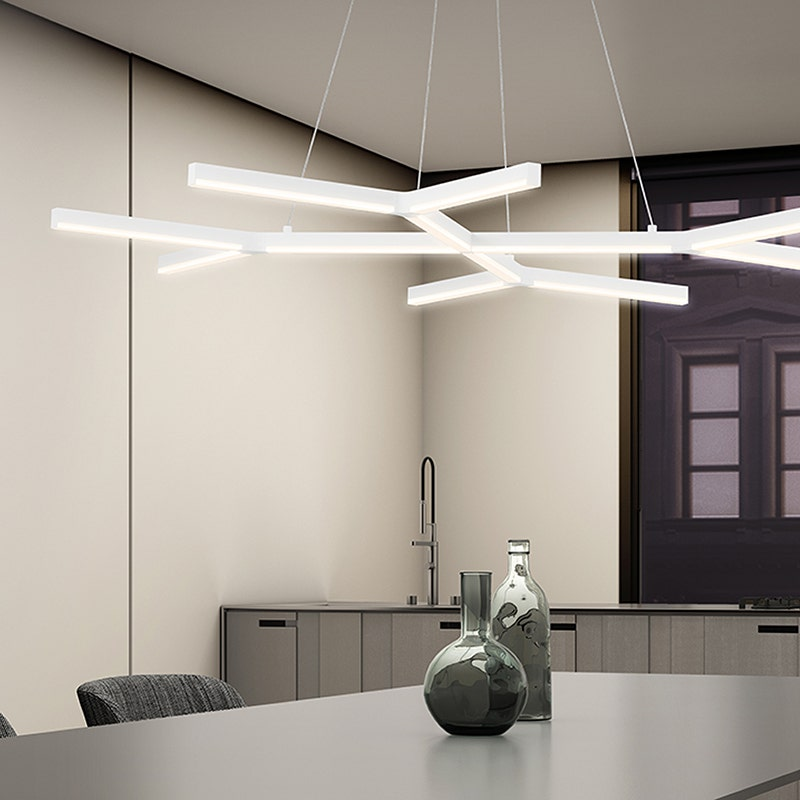 sonneman Quad-Y LED Pendant dining