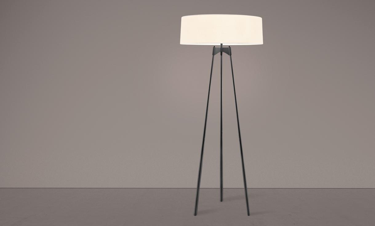 sonneman Torii Floor Lamp living room