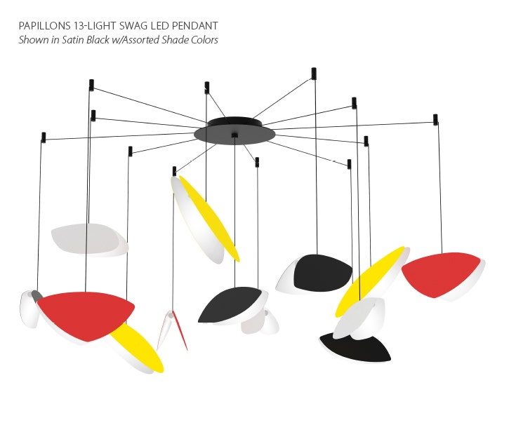 Sonneman Papillons LED Pendant SWAG