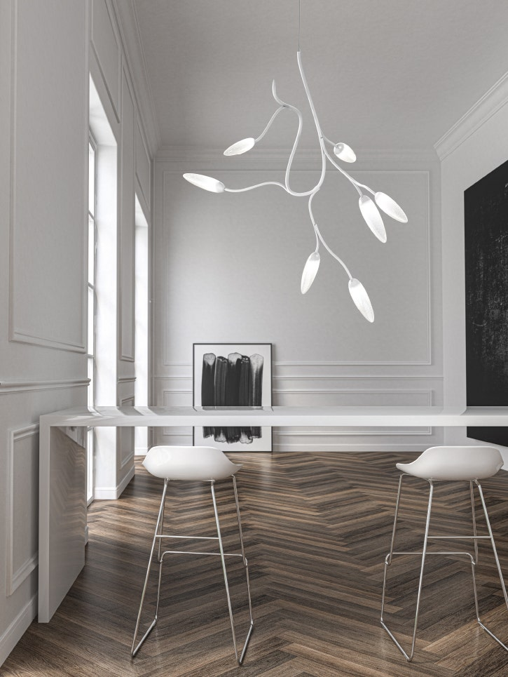 Sonneman Vines Small Dining Room