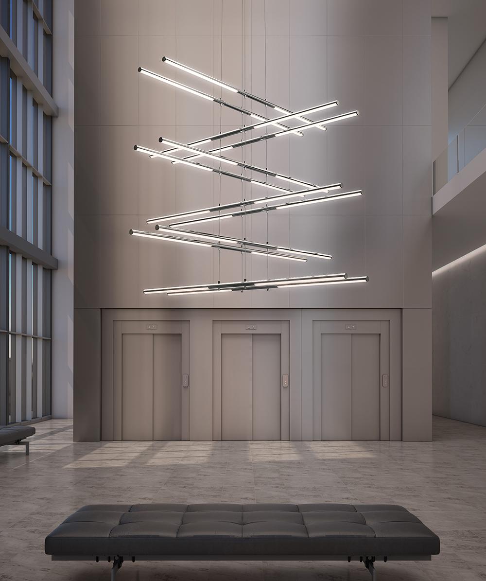 Sonneman Tik-Tak LED Pendant Entry