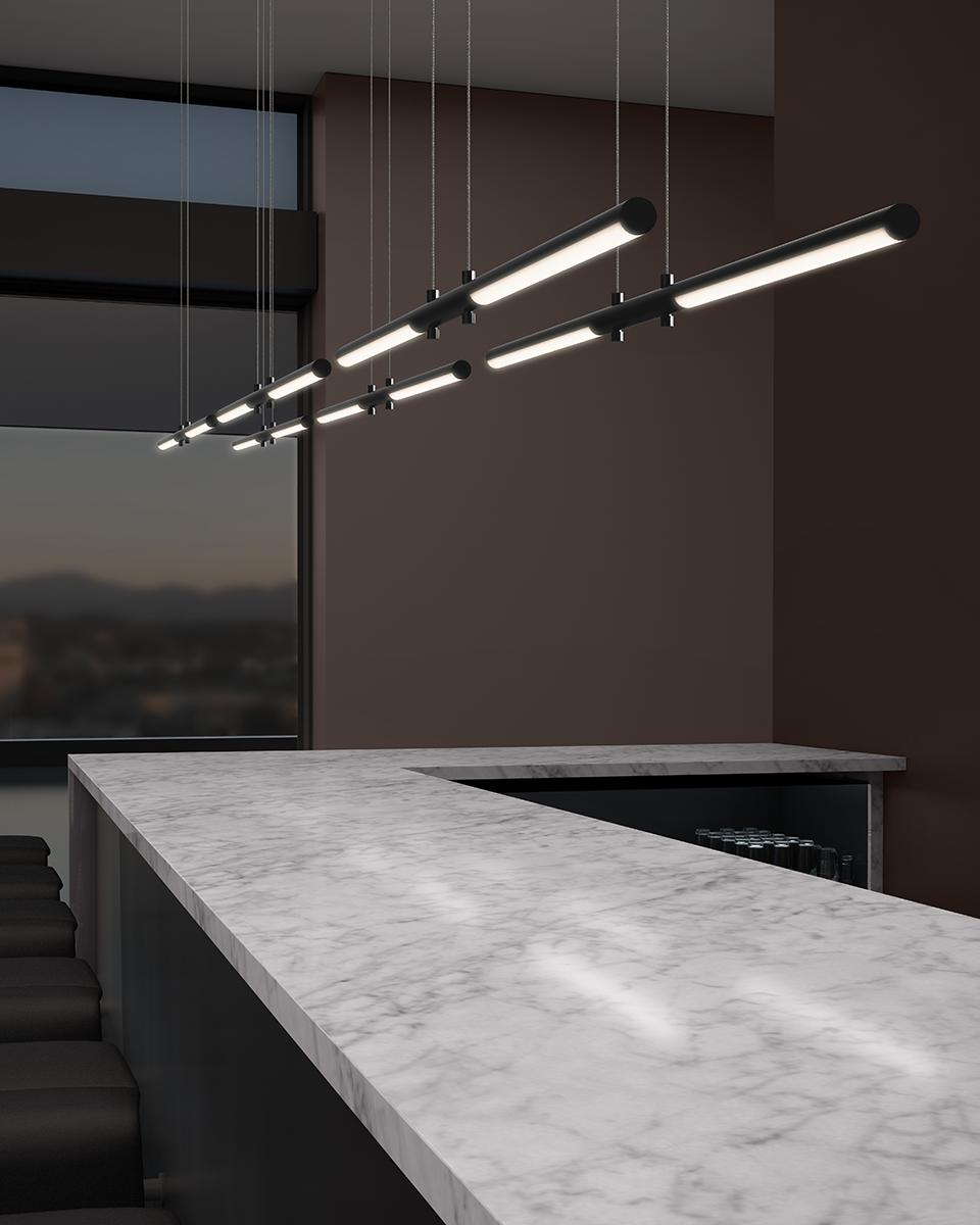 Sonneman Tik-Tak LED Pendant Restaurant