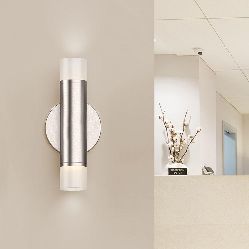 Sonneman ALC LED Sconce Living Room