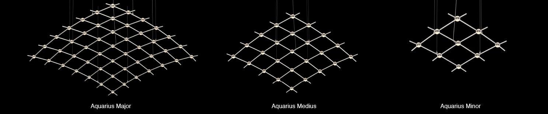 Sonneman Constellation Aquarius Major Aquarius Minor Aquarius Medius