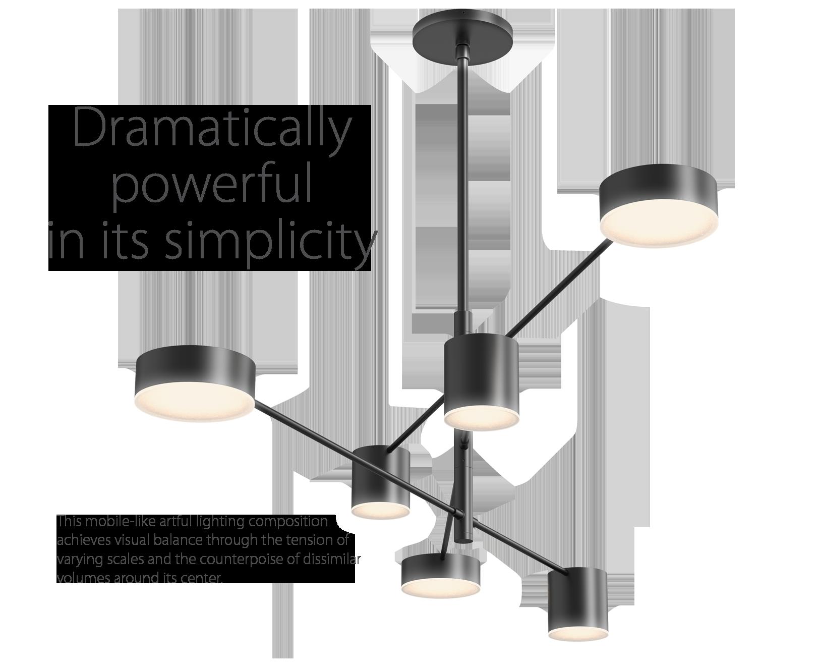 Sonneman CounterPoint LED Pendant