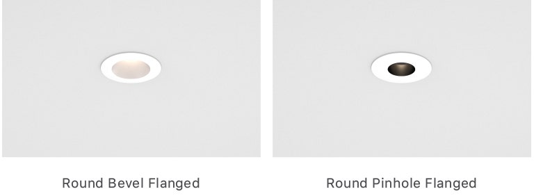 """Sonneman Intervals 1"""" Round Fixed Ceiling Applications"""