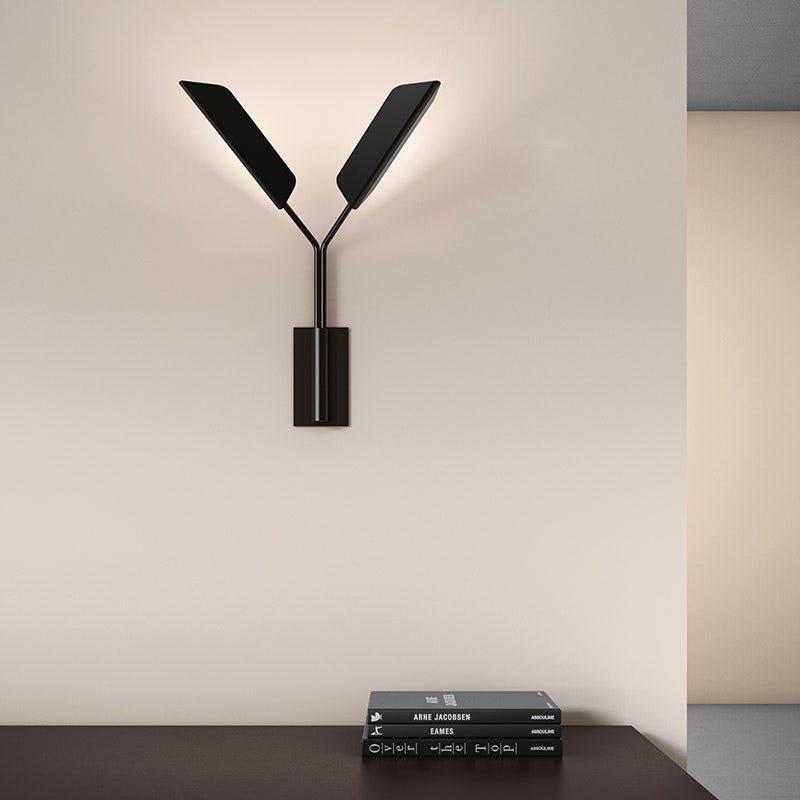 Sonneman Leaf LED Sconce Living Room